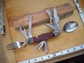 JAPAN Pocket Knife MULTI TOOL SCOUT KNIFE